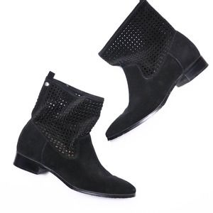 MICHAEL KORS Graham Perforated Ankle Boot 8.5M